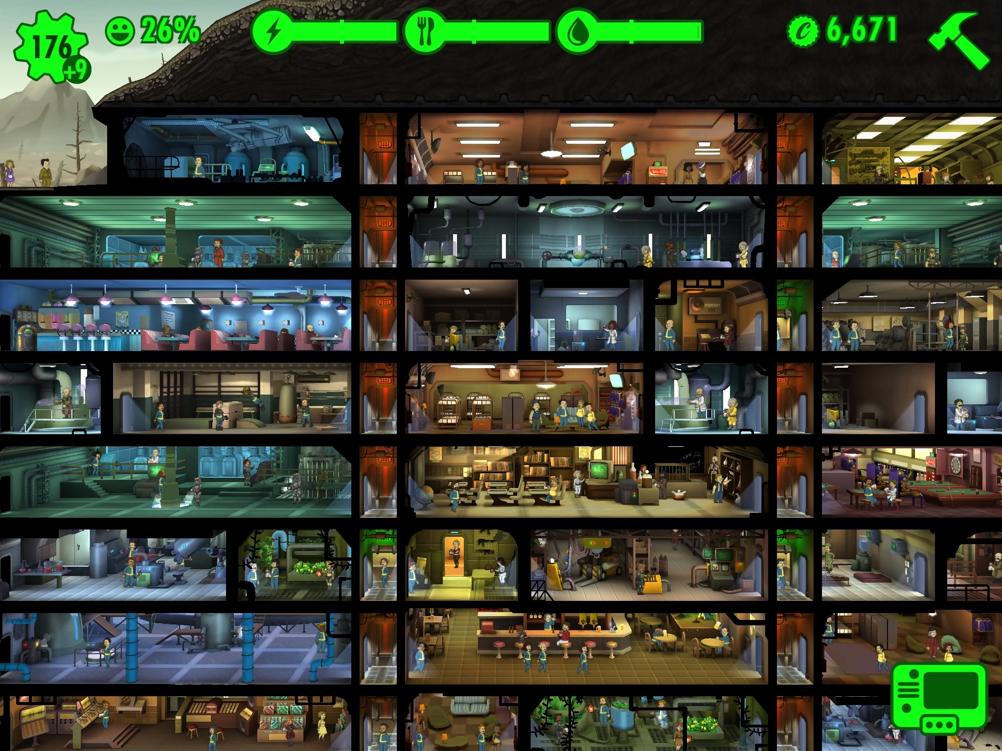 Fallout shelter play online - 231
