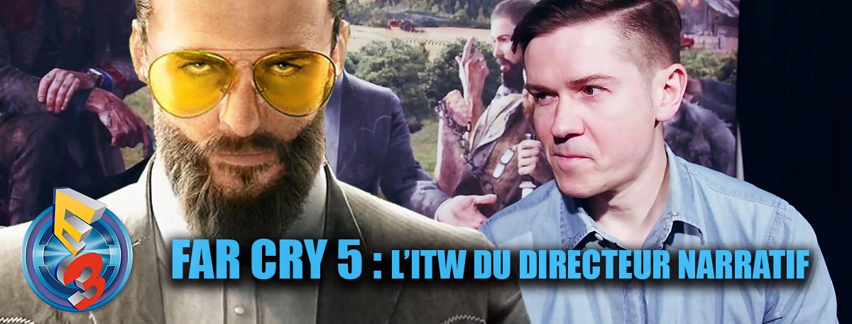Ubisoft : Avec Far Cry 5, on a cherché à créer la surprise