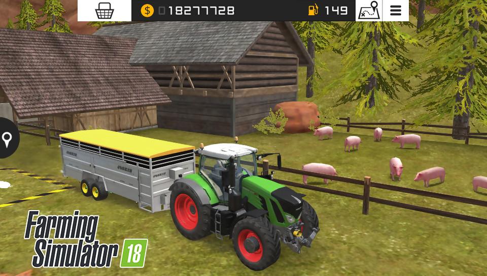 farming simulator 18 toutes les images sur ps vita et 3ds. Black Bedroom Furniture Sets. Home Design Ideas