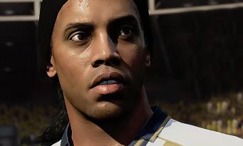 FIFA 18 : une vidéo qui montre Ronaldinho dans les icônes FUT