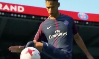 FIFA 18 : le trailer avec Neymar et son maillot du PSG