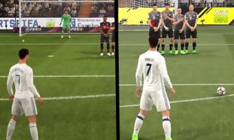 FIFA 17 vs FIFA 18 : comparatif en vidéo sur le gameplay