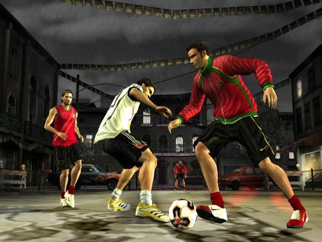 jeux video fifa street 2