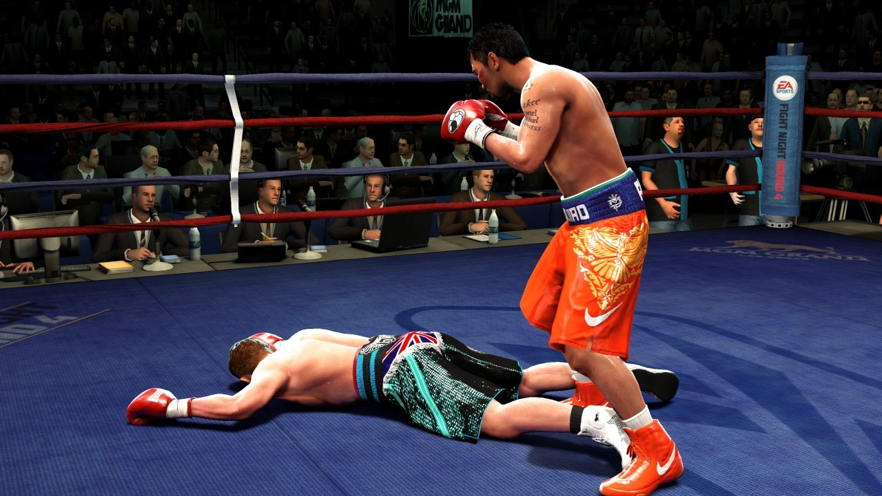 fight night 3 trailer:
