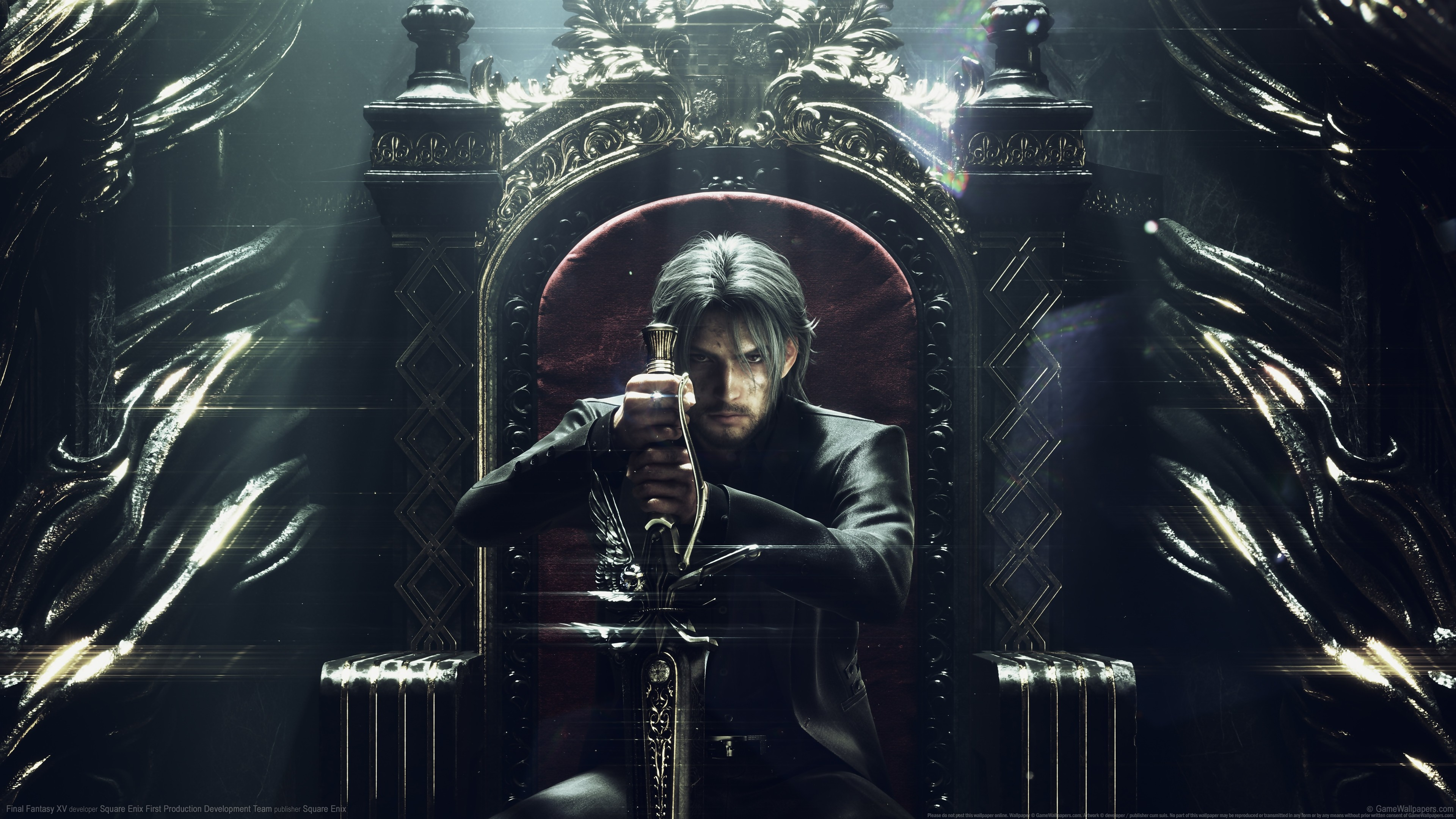 4k Noctis Lucis Caelum Final Fantasy Xv Hd Games 4k: Artworks Final Fantasy XV