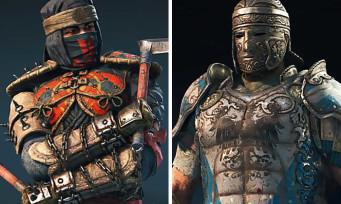 For Honor : deux nouvelles vidéos avec le Shinobi et le Centurion