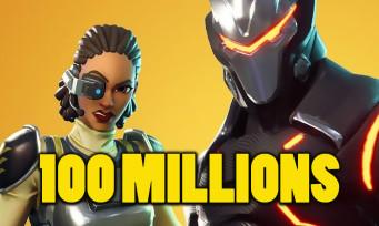 Fortnite : un cash prize de 100 millions de dollars pour les compétitions