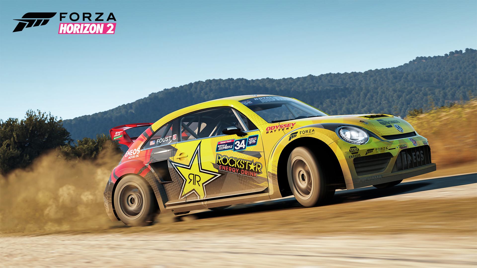 Forza Horizon 2 T 233 L 233 Chargez Le Rockstar Energy Car Pack