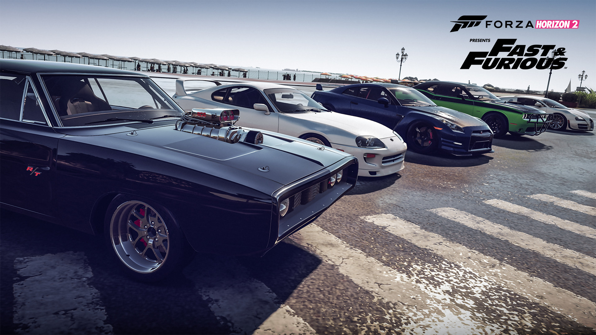 forza horizon 2 trailer du pack fast furious 7. Black Bedroom Furniture Sets. Home Design Ideas