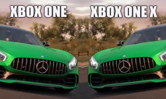 Forza Horizon 3 : comparatif vidéo Xbox One VS Xbox One X
