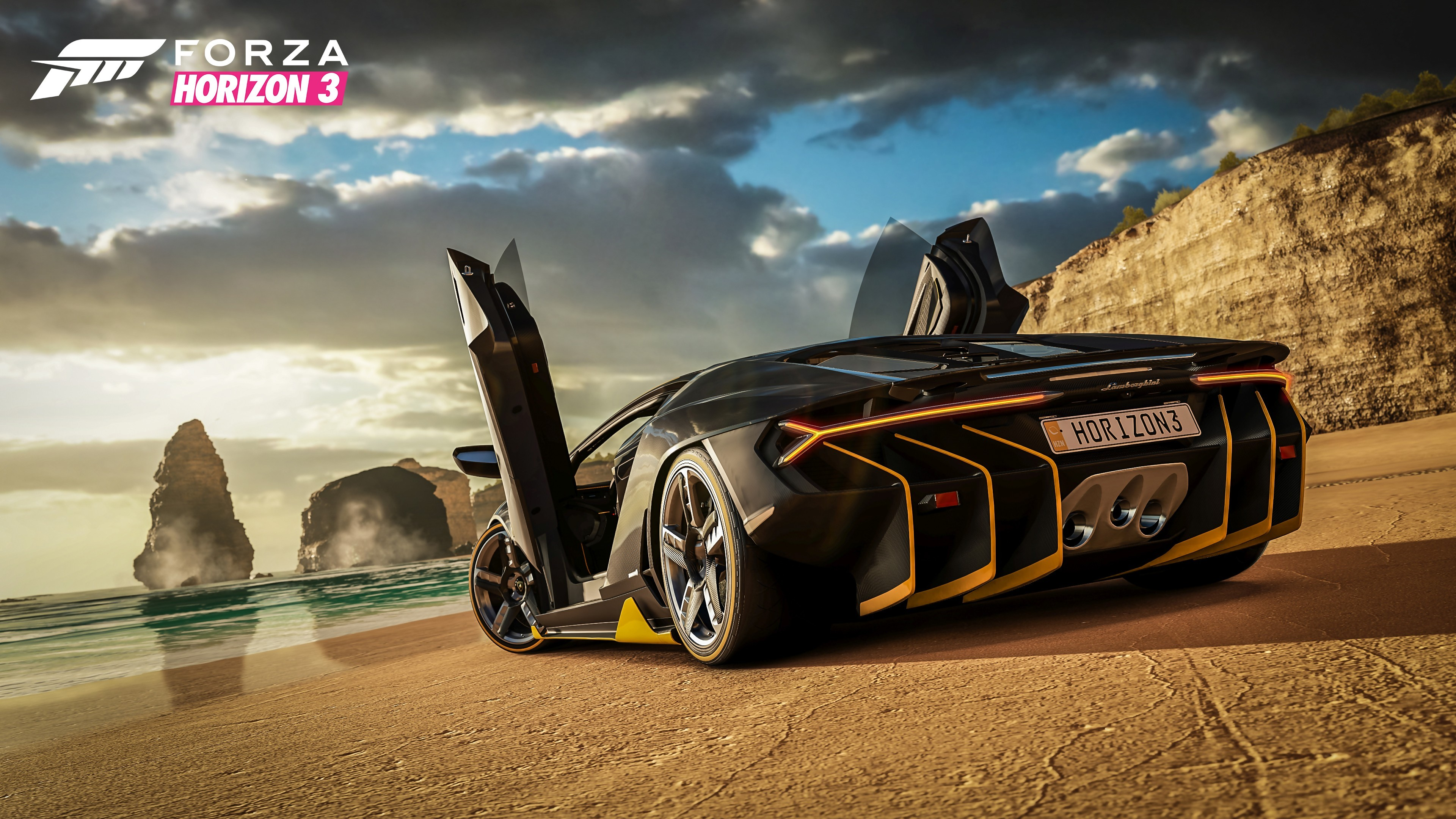 forza horizon 3 trailer de gameplay de l 39 e3 2016. Black Bedroom Furniture Sets. Home Design Ideas
