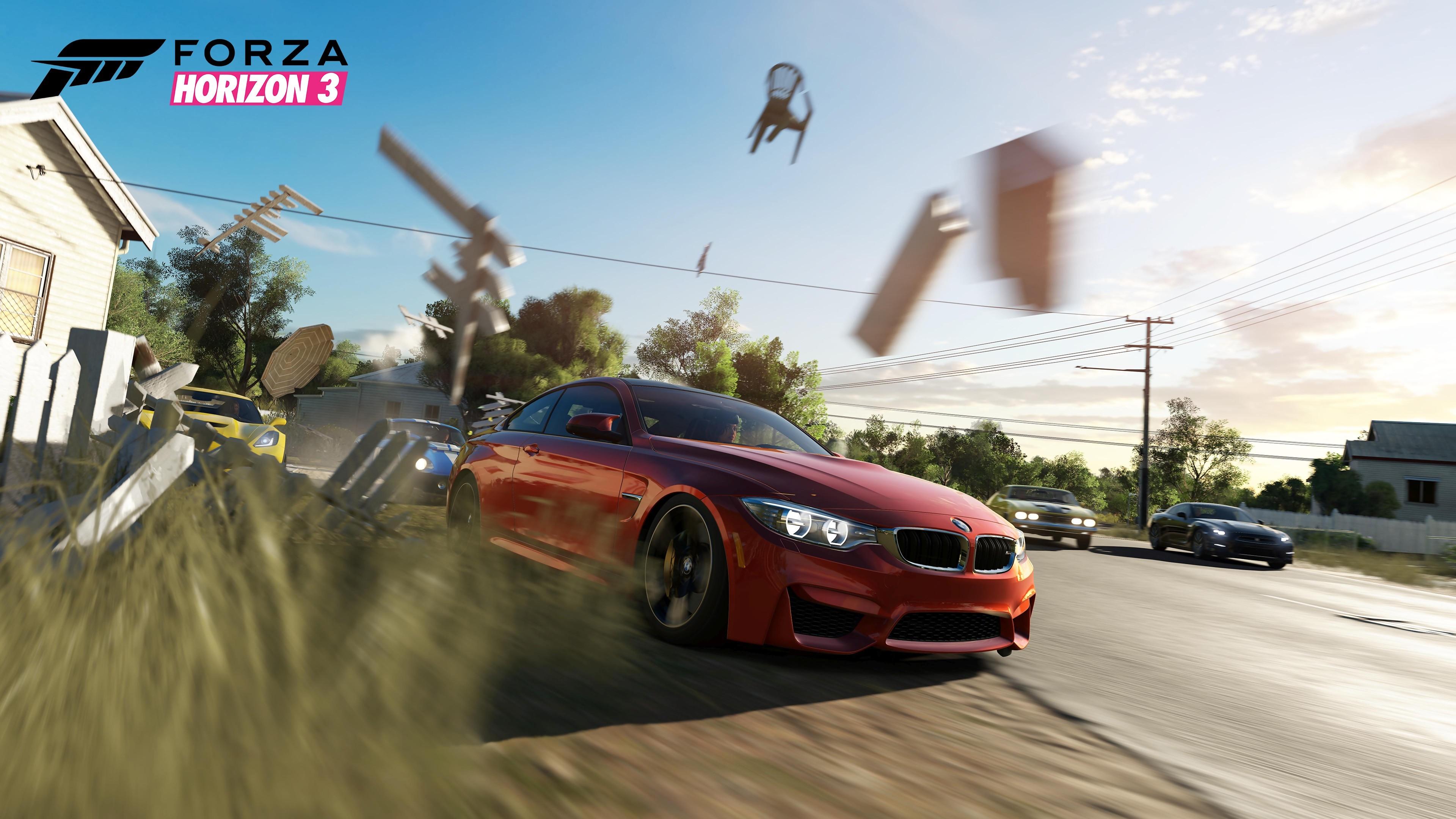 forza horizon 3 : trailer de gameplay de l'e3 2016