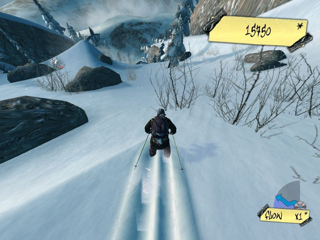 Freakout extreme freeride psp gameplay