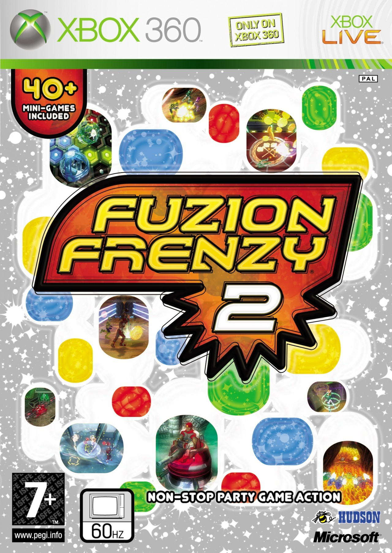 Fuzion Frenzy 2 illustré sur Xbox 360