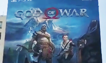 GOD OF WAR : la vidéo de la fresque géante à Los Angeles