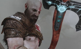 GOD OF WAR : Kratos taille le Mal à la hache dans le trailer de la PGW