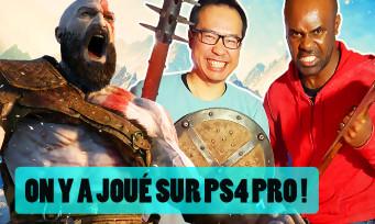 GOD OF WAR : on y a joué sur PS4 Pro, découvrez notre avis en vidéo