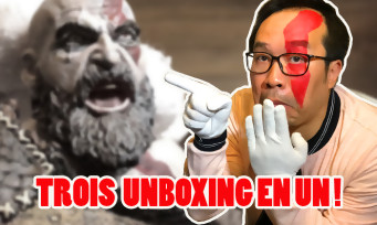 GOD OF WAR : notre unboxing de la statuette de Kratos + press kit