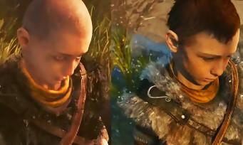 GOD OF WAR : comparatif vidéo entre un prototype et la démo E3 2016