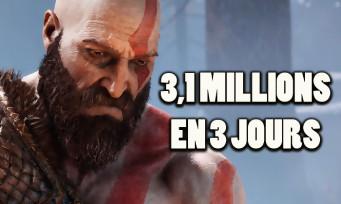 GOD OF WAR : voici les chiffres de ventes du jeu sur PS4