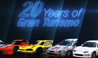 Gran Turismo : la série fête ses 20 ans et s'offre une vidéo anniversaire !