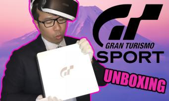 PS4 : voici notre unboxing de la console collector Gran Turismo Sport