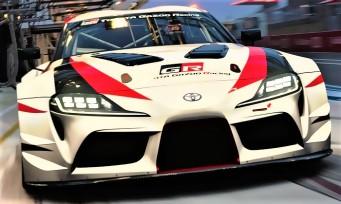 Gran Turismo Sport : toutes les images de la Toyota Supra GR