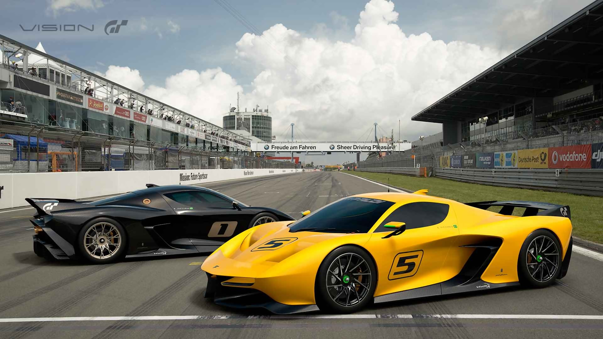 gran turismo sport trailer de la ef7 fittipaldi de pininfarina. Black Bedroom Furniture Sets. Home Design Ideas