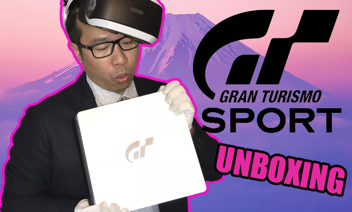 ps4 voici notre unboxing de la console collector gran turismo sport. Black Bedroom Furniture Sets. Home Design Ideas