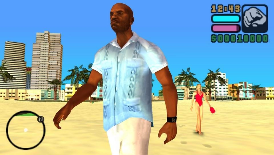 Grand Theft Auto: Vice City StoriesRUS/ ISO PSP