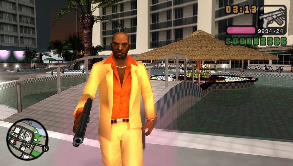 Test GTA   Vice City Stories Sur PSP