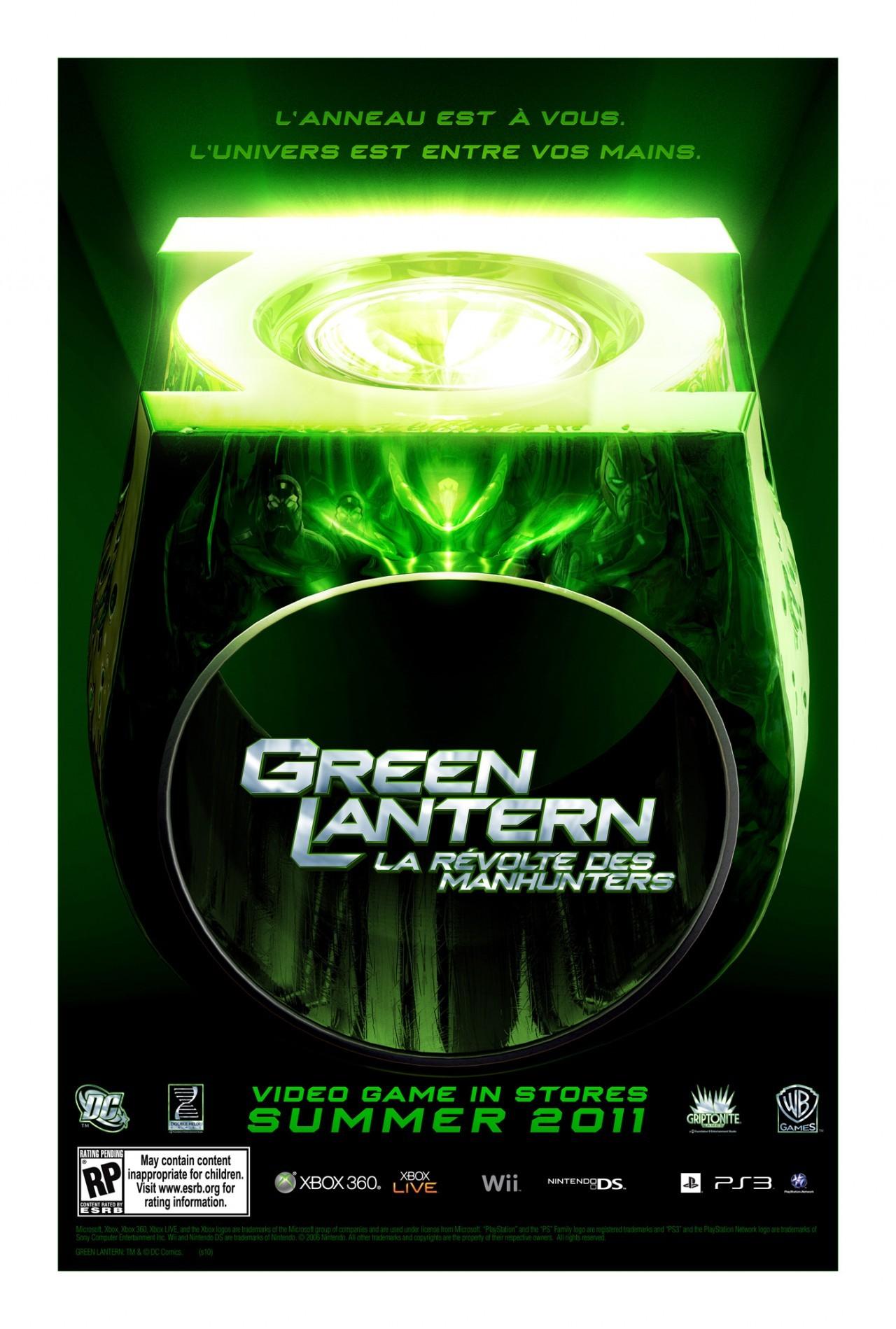 artworks green lantern la r 233 volte des manhunters
