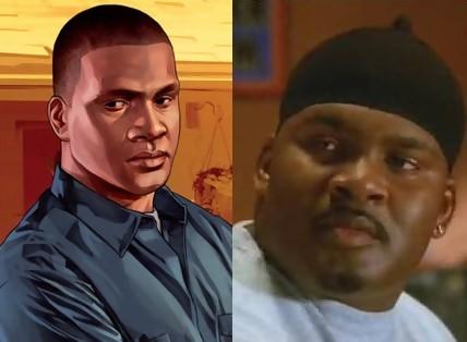 GTA 5 : Michael, Franklin et Trevor pour de vrai