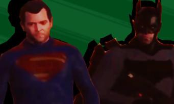 GTA 5 : le dernier trailer de Batman vs Superman recréé avec le jeu