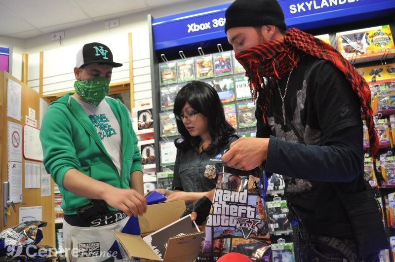 GTA 5 publicity stunt with fake criminals ends with real