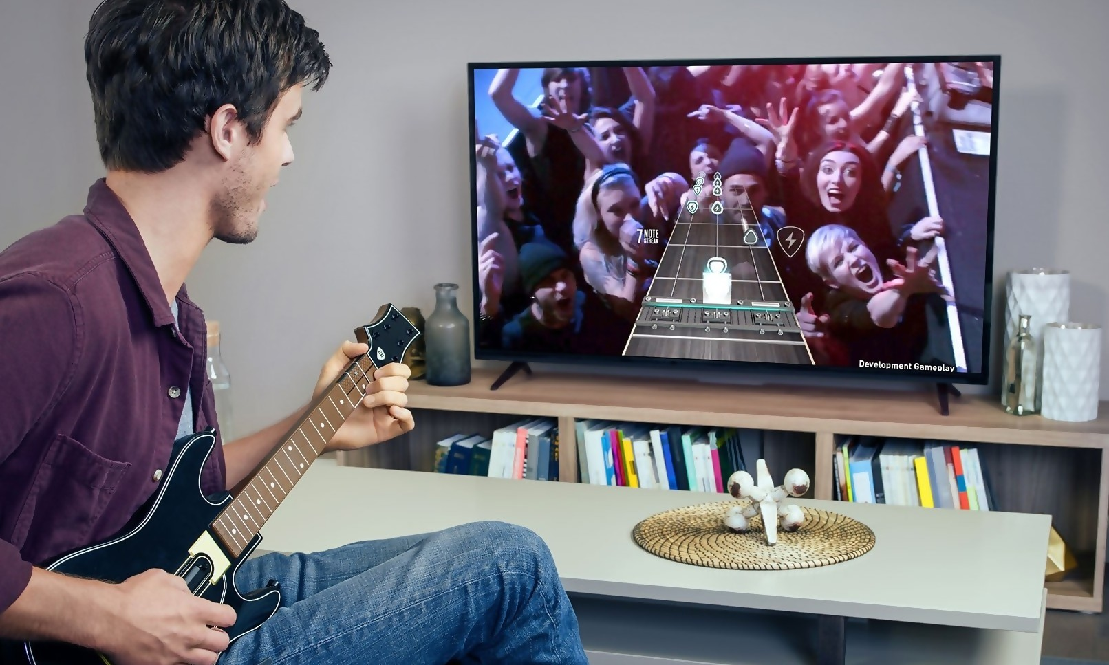 how to add phone to guitar hero live
