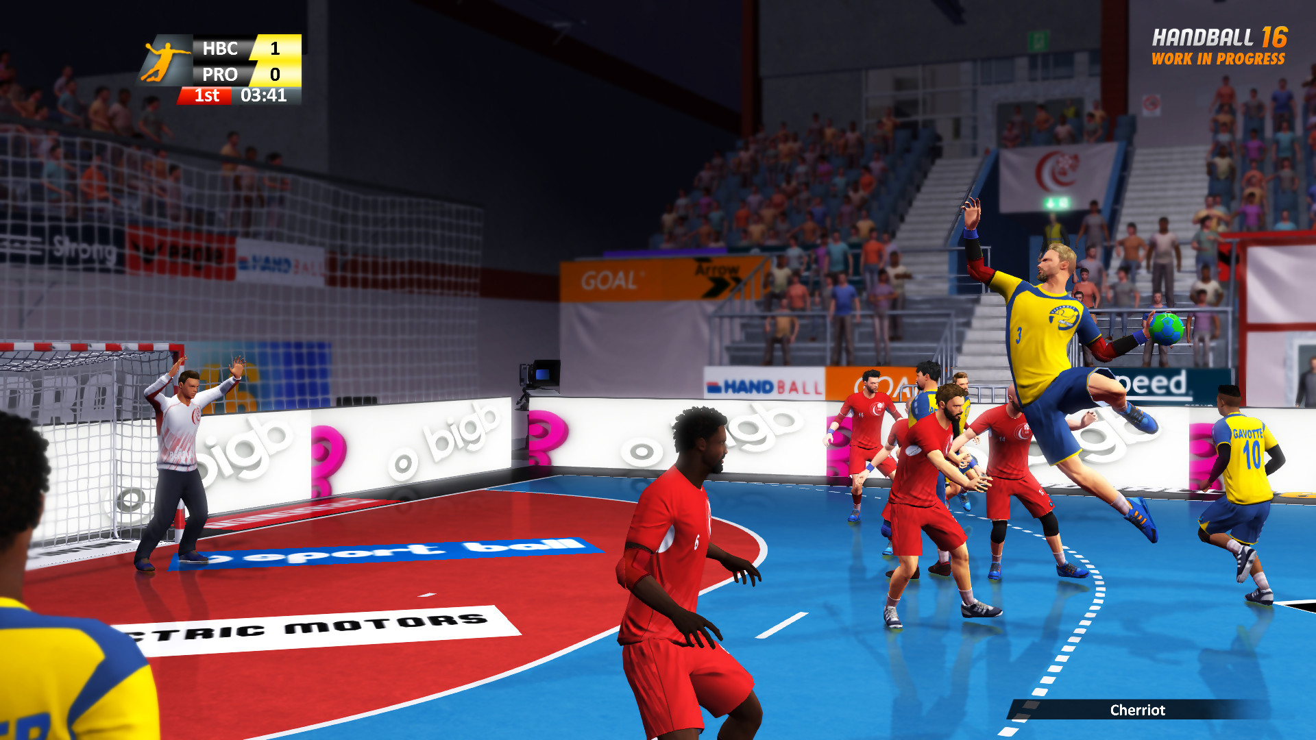 handball 16 trailer sur ps4 et xbox one. Black Bedroom Furniture Sets. Home Design Ideas