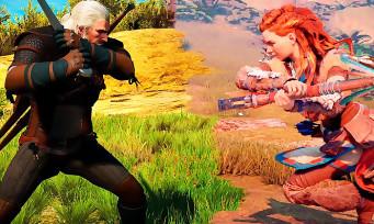 Horizon PS4 Pro VS The Witcher 3 PC Ultra : qui est le meilleur ?