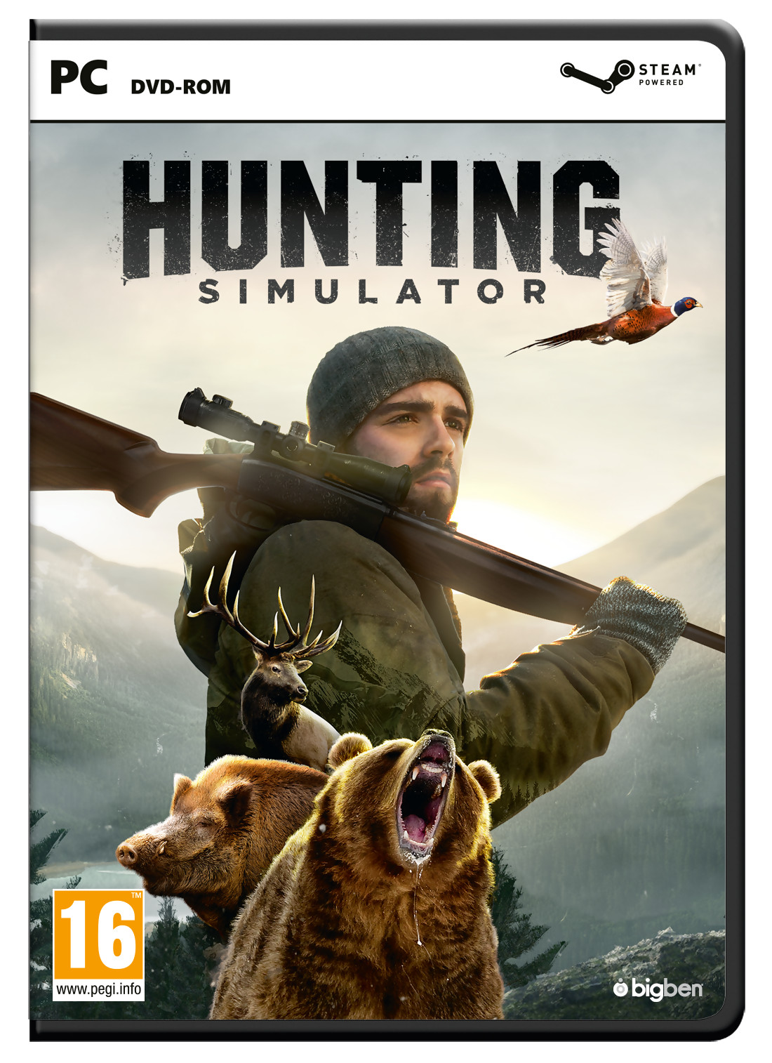 hunting simulator trailer de gameplay pour ce jeu de chasse sur ps4. Black Bedroom Furniture Sets. Home Design Ideas