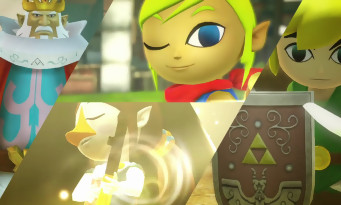Hyrule Warriors Definitive Edition : un trailer avec les persos de Wind Waker