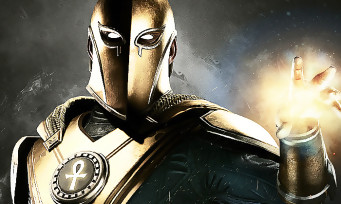 Injustice 2 : une vidéo de gameplay avec le Docteur Fate