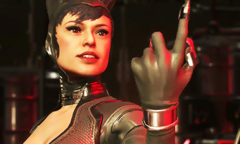 Injustice 2 : trailer de gameplay de Catwoman vs Harley Quinn