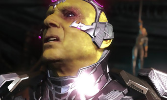 Injustice 2 : trailer de gameplay de Brainiac