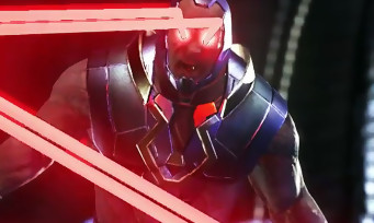 Injustice 2 : trailer de gameplay de Darkseid