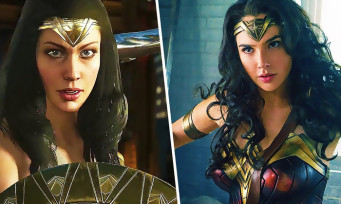 Injustice 2 : trailer de gameplay du costume du film Wonder Woman