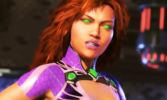 Injustice 2 : trailer de gameplay de Starfire