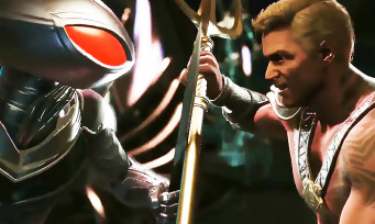Injustice 2 : trailer de gameplay Black Manta VS Aquaman