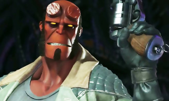 Injustice 2 : trailer de gameplay de Hellboy