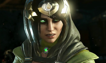 Injustice 2 : trailer de gameplay de l'Enchanteresse