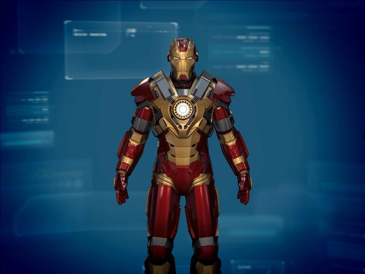 Les armures toutes les armures d 39 iron man - Iron man 3 jeux gratuit ...